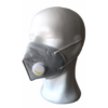 Kép 2/2 - KN95 (FFP2) szelepes maszk (szürke)