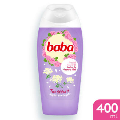 Baba Tusfürdő Bodza és rózsavíz