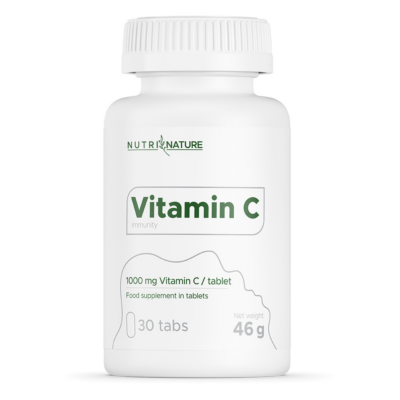 Nutri Nature - C-vitamin 1000mg - 30db