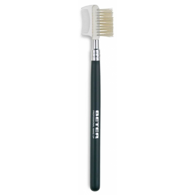 BETER - Szemöldök fésű és kefe 15,8 cm