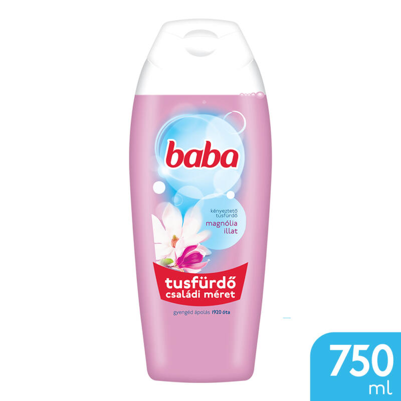 Baba Tusfürdő Magnólia illattal