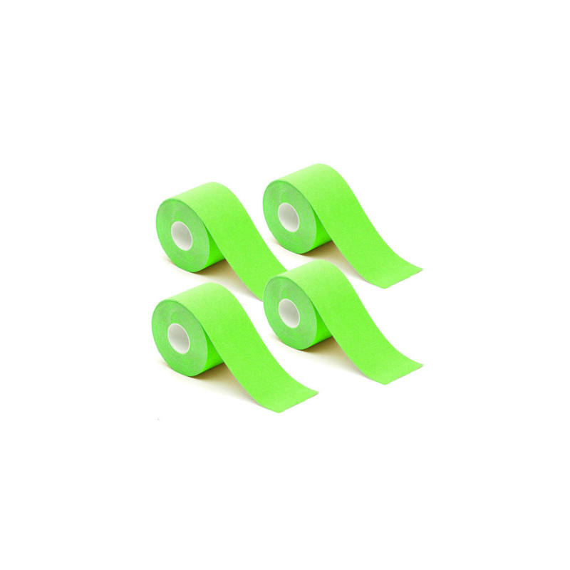 4 db kineziológiai szalag - zöld