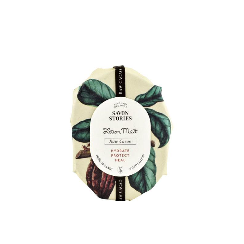 Savon Stories - Szilárd testápoló nyers kakaóval