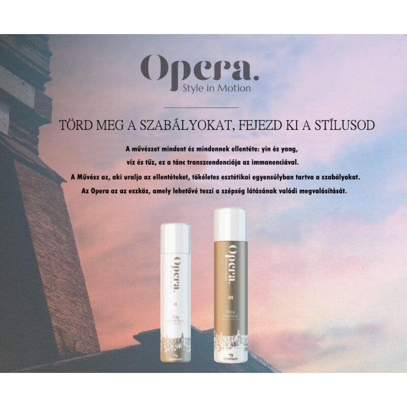 Opera Style in Motion Super Strong erős rögzítő hajlakk (500ml) - Tocco Magico